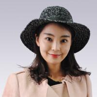 时尚出游情侣韩版贵妇绅士帽英伦爵士帽男女款小礼帽