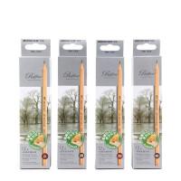 马可素描铅笔套装2h4b初学者2b6b8b画画笔hb2比马克素描笔套装专业学生用绘画工具美术用品画画套装成人