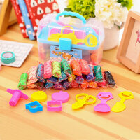 儿童橡皮泥24色套装宝宝手工制作12色彩泥工具模具玩具