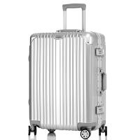 拉杆箱万向轮铝框旅行箱26/28寸男女行李箱包20登机箱密码硬箱子
