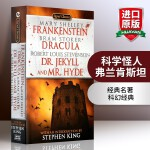 弗兰肯斯坦 英文原版书 Frankenstein Dracula Dr Jekyll and Mr Hyde 吸血鬼伯