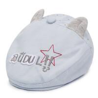 宝宝棒球帽鸭舌帽 户外遮阳帽子儿童卡通贝雷帽棉布童帽