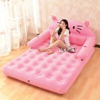 床榻榻米充气床垫地垫可折叠气垫懒人充气床单人家用卡通气垫 其他