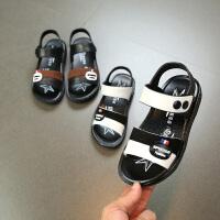 儿童凉鞋男童夏季软底宝宝鞋休闲露趾小学生沙滩鞋潮
