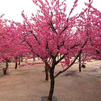 假树仿真桃花树假桃树大型植物 仿真樱花树仿真梅花树许愿树桃花装饰