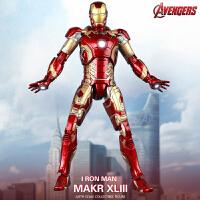 仿合金属钢铁侠mk43模型男孩小孩玩具复仇者联盟3可动手办礼物