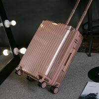 旅行箱拉杆箱万向轮20寸22寸密码箱女款铝框箱行李箱男28寸