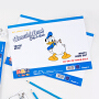 广博4本A4儿童卡通图画本启蒙美术绘画本涂鸦本 迪士尼唐老鸭系列IQT14400