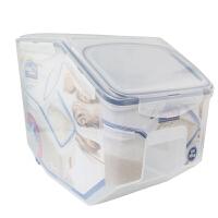乐扣乐扣塑料杂粮桶米桶12L保鲜盒谷物桶HPL510储物箱