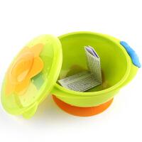 【当当自营】努比Nuby 婴儿吸盘碗儿童宝宝辅食碗可微波加热 绿色 01NB235322