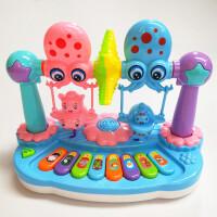 益智新生儿玩具3-6-8-9-12个月婴儿摇铃转台0-1-3岁幼儿宝宝男孩