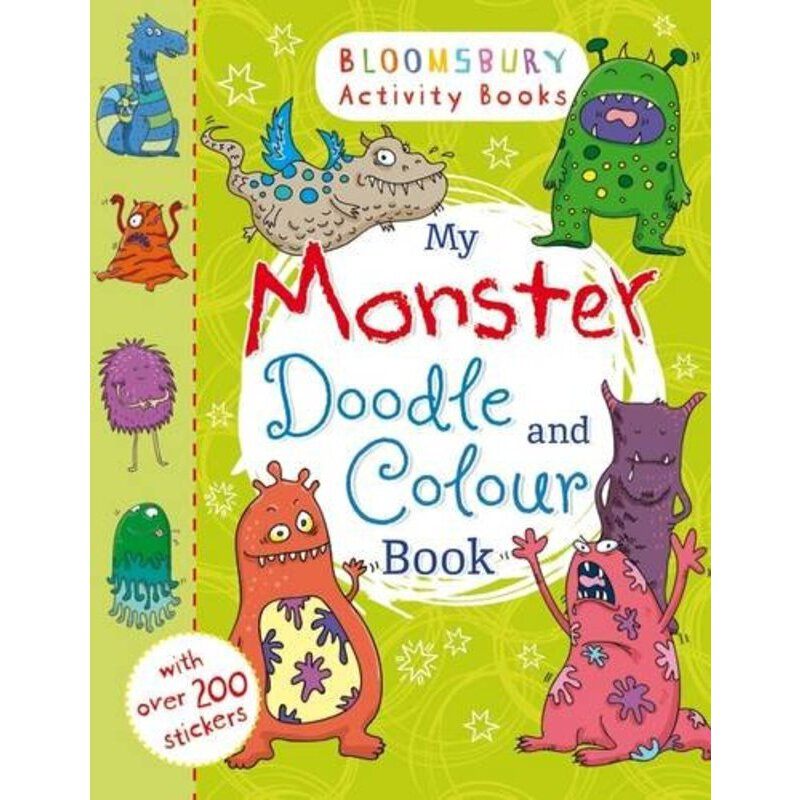 Bloomsbury Activity Books: My Monster Doodle and Colour Book    ISBN:9781408847879