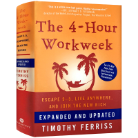 每周工作四小时 英文原版 管理类进口书 The 4-Hour Workweek Timothy Ferriss 蒂莫西