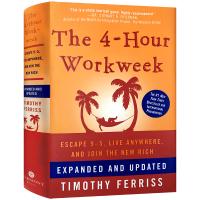 每周工作四小时 英文原版 管理类进口书 The 4-Hour Workweek Timothy Ferriss 蒂莫西代