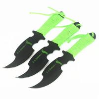 spike 斧头直刀 3支装 军迷收藏 创意工具刀 儿时梦想 直刀 军迷刀具 创意工具刀 直刀