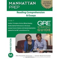 Reading Comprehension & Essays GRE Strategy Guide,3rd Editi