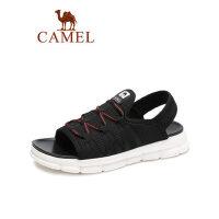 camel骆驼男鞋2019夏季新品时尚莱卡透气厚底凉鞋休闲假日户外减震凉鞋