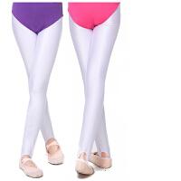 儿童舞蹈袜女宝宝跳舞打底连裤袜春夏季锦纶踩脚丝袜子健美裤白色