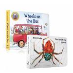 顺丰发货 英文原版绘本 The Very Busy Spider忙碌的蜘蛛 Wheels on the Bus 公车上