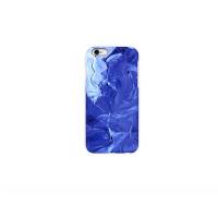 iphone6s/5se手机壳 原创艺术油画 我看见的你是蓝色的  磨砂硬壳 立体视觉