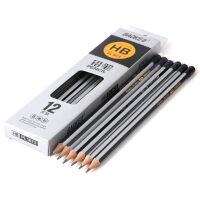 宝克 原木铅笔HB书写铅笔 PL1671 皮头铅笔12支/盒