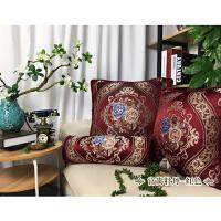 福存家居 抱枕靠垫欧式帆布沙发电脑椅腰枕汽车腰垫床头垫四季