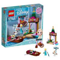 【当当自营】LEGO乐高积木迪士尼公主系列41155 艾莎的集市历险