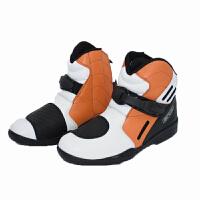 ARCX 红色越野防水短靴公路摩托车赛车靴子 MOTORCYCLE BOOTS