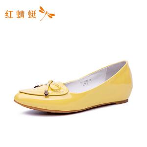 【专柜正品】红蜻蜓新款学院风休闲女鞋