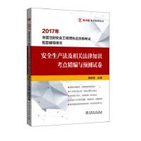 2017年全国注册安全工程师执业资格考试配套辅导用书 安全生产法及相关法律知识考点精编与预测试卷
