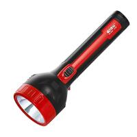 可充电LED手电筒大号户外强光远射探照灯2000毫安电池