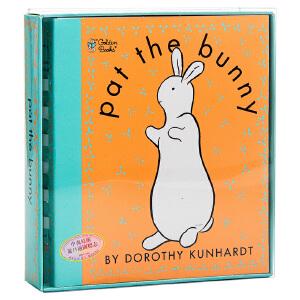 【中商原版】Pat the Bunny: Touch n Feel 拍拍小兔子英文原版 经典畅销儿童读物 触摸书(Golden Touch and Feel Book)