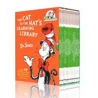 苏斯博士英文原版绘本 Dr seuss系列20册 戴帽子的猫科普图书馆 Cat in the Hat's Learning Library 少儿童科普英语读物