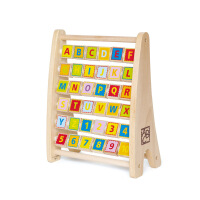 Hape字母珠算架3-6岁益智早教木制玩具婴幼玩具E1002