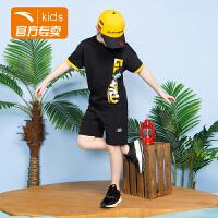 【商城同款】安踏童装男童运动短裤五分裤 夏季款352028324