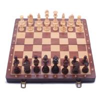 高档加大号实木质国际象棋chess实木折叠棋盘套装皇高10.5厘米 加大号(皇高10.5厘米)