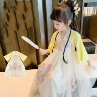 儿童演出服汉服唐装女童古装中国风夏季儿童襦裙夏装