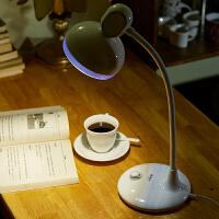 LED台灯护眼学生学习儿童工作暖光美式台灯书桌床头插电