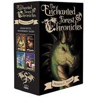 魔法森林编年史 英文原版 The Enchanted Forest Chronicles 与龙相谋等4册全套装