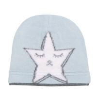 户外男女宝宝韩版套头帽保暖毛线帽新生儿胎帽