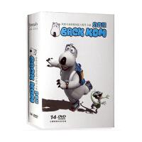 倒霉熊动画片dvd碟片 贝肯熊倒霉熊 dvd全集156集+茶杯大冒险DVD