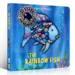 英文原版 The Rainbow Fish 彩虹鱼 纸板书 凯特・格林纳威奖 3-6岁绘本读物