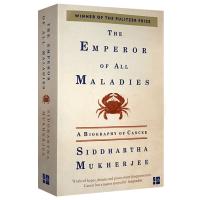 现货正版 众病之王癌症传 英文版 The Emperor of All Maladies 英文原版进口医学健康科普英语