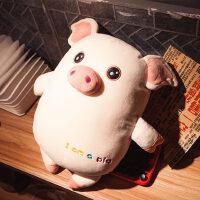 小猪暖手玩偶可爱超软抱枕公仔布偶娃娃女生睡觉抱午睡靠垫毛绒萌