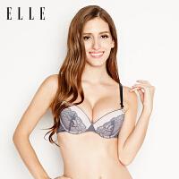 ELLE内衣文胸蕾丝性感舒适女士文胸胸罩 银泰