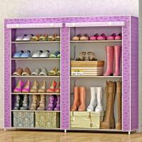 索尔诺简易鞋柜鞋架 组装多层经济型收纳防尘鞋架子现代简约0603C