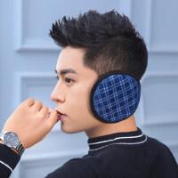 护耳套男士耳朵套保暖耳包护耳罩后戴式户外耳暖皮质耳捂