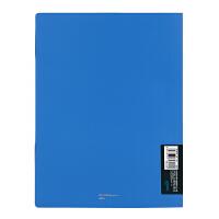Comix/齐心 A449 办公文件原味系列便携可卷资料册夹A4 12袋