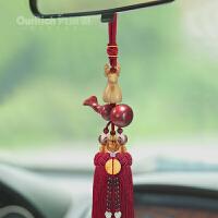 汽车上挂件网红车载挂饰小沙弥饰品车内后视镜装饰抖音同款