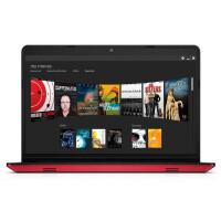 戴尔(DELL)   灵越 14M-7528R  14英寸笔记本电脑 i5-6200U 4G 500G  2G独显 Win10 摄像头 蓝牙  红色